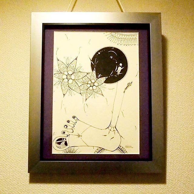 いりぐち.#art#akirart#akira#painter#paint#drow#artist#artwork#happy#job#myart#japaneseartist#japan#山根亮#画家#絵#アート依頼#アート#芸術