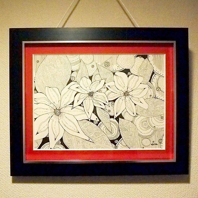 flower of MARS..#art#akirart#akira#painter#paint#drow#artist#artwork#happy#job#myart#japaneseartist#japan#山根亮#画家#絵#アート依頼#アート#芸術