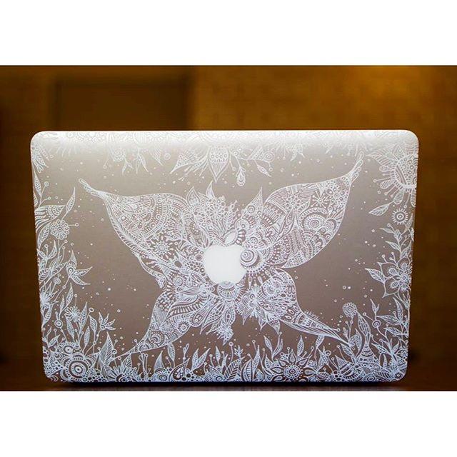 artworks!of Mac.こんな依頼も受けてます!#Mac#Apple#artwork#artist#painter#painting#illust#butterfly#art#アート#絵#絵画#依頼#マックブック#イラスト#線画