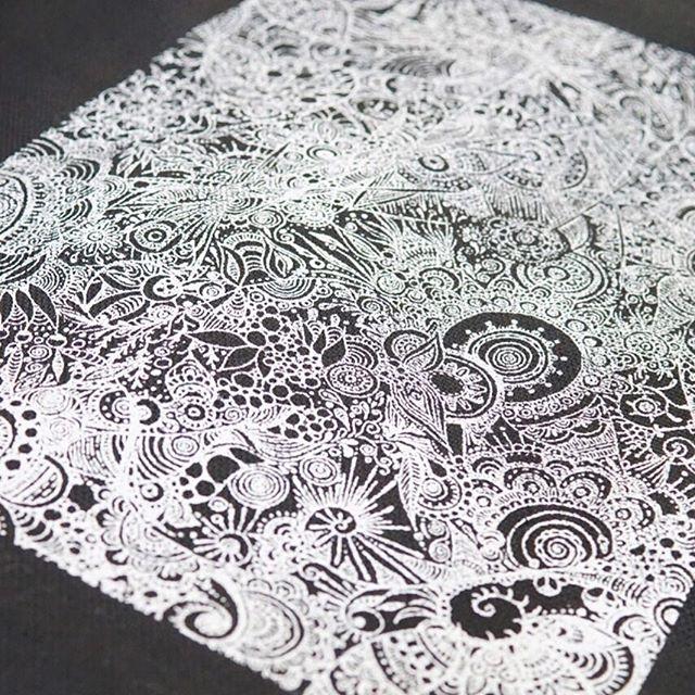 試作品で作ったバッグ#面白いこと模索中#スクリーン印刷#レトロ印刷#画家#山根亮#創造