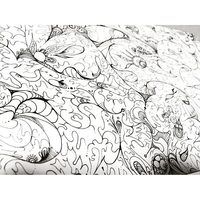 NEW.title: 蜃気楼サイズ:SM号価格:¥22000.詳細はブログよりどうぞ。#art#akirart#akira#painter#paint#drow#artist#artwork#happy#job#myart#japaneseartist#japan#山根亮#画家#絵#アート依頼#アート#芸術#描く#作品#想い#届け#日本#線画#蜃気楼