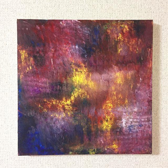 輝きS3号 ¥28.000-.輝きの色それぞれの色あなたの色で輝けばいい..#art#akirart#akira#painter#paint#drow#artist#artwork#happy#job#myart#japaneseartist#japan#山根亮#画家#絵#アート依頼#アート#芸術#描く#作品#想い#届け#日本#線画