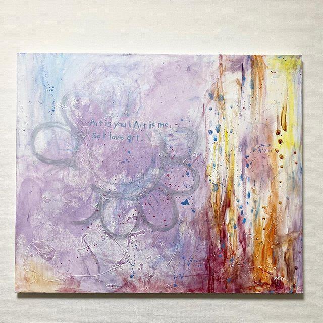 「what is art?」アートとは一体なんなのか。表現するとはなんなのか。その本質はどこにあるのか、、。ただ感じてみてほしい。 ...作品の購入などに関してはDMください︎