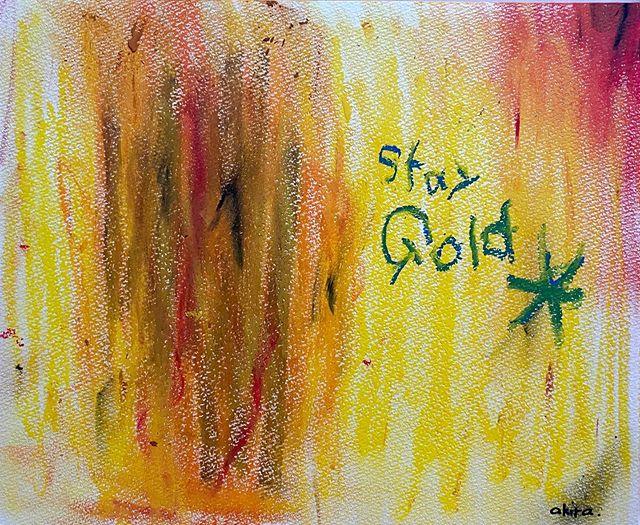 「Stay Gold」綺麗な心のまま、そのままでいて。.#パステルシリーズ